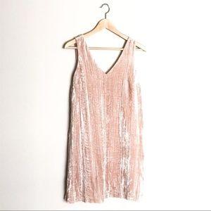 LOFT Mini Dress in Blush